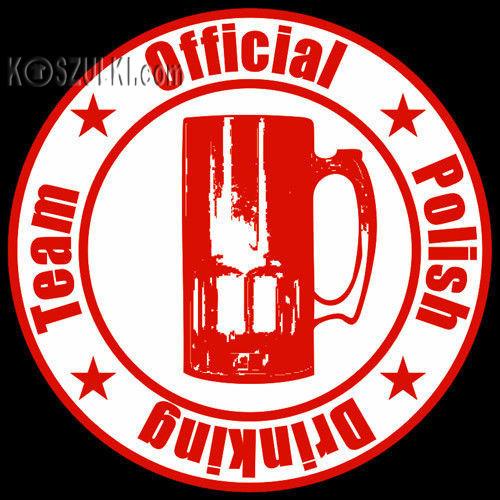 t-shirt T224 Polish Drinking Team