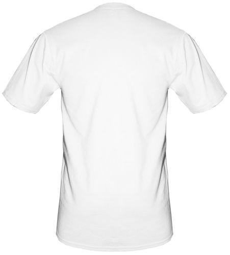t-shirt XXXXL biały bez nadruku